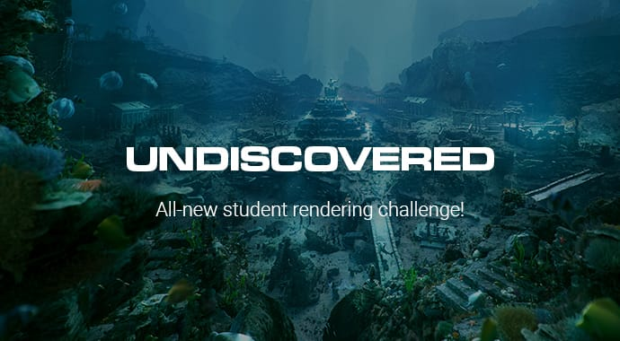 Undiscovered Student Rendering Competition