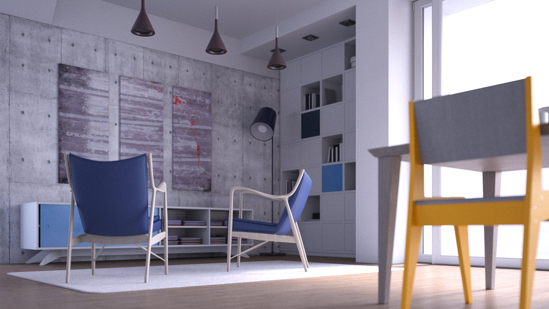 How To Light And Render Interiors With V Ray For Cinema 4d Chaos Group