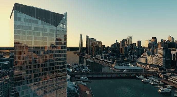 Sydney, Australia's Central Business District skyline